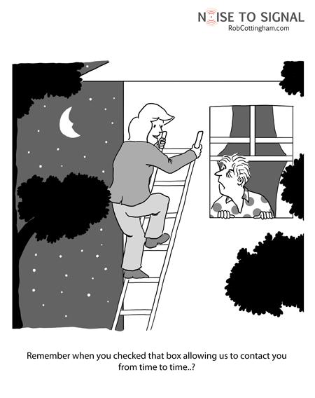 Cartoon by Rob Cottingham